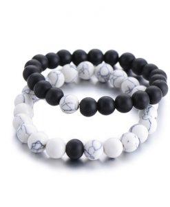 Bracelet yin yang homme et femme