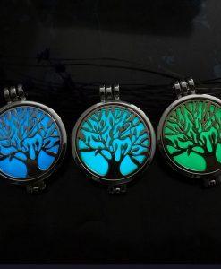 collier arbre de vie or argent cuivre