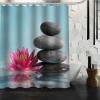 Rideau de douche ambiance zen – 7