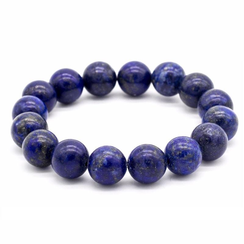 bracelet avec pierres en lapis lazuli naturelles univers zen. Black Bedroom Furniture Sets. Home Design Ideas
