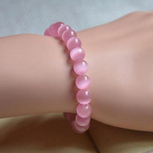 bracelet-en-opale-rose