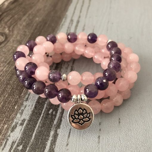 bracelet_mala_en_quartz_rose_et_amethyste_version_lotus
