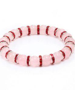 bracelet_quartz_rose_pour_femme_couleur_rouge