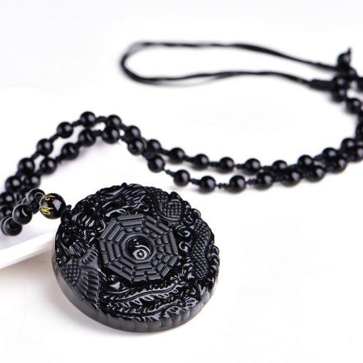 collier-dragon-et-phoenix-en-obsidienne-avec-ying-yang-a-plat