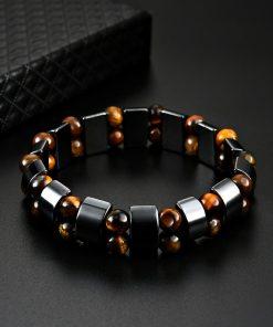 Bracelet oeil de tigre homme signification