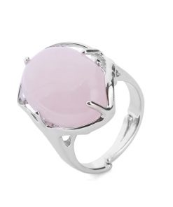 bague-quartz-rose-ajustable