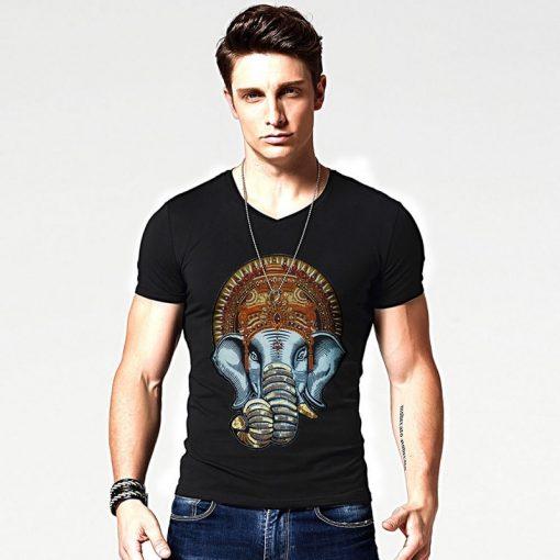 t-shirt-ganesh-noir-pour-homme