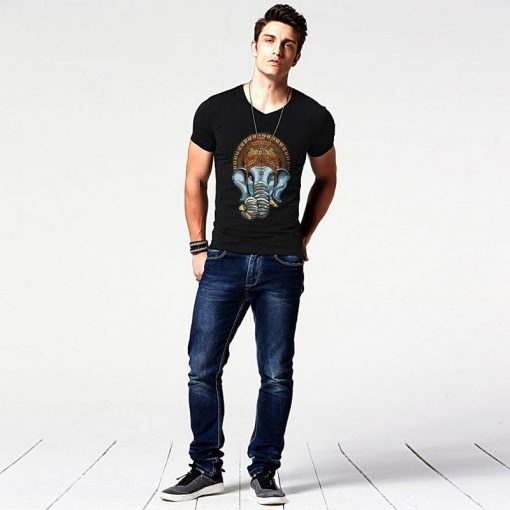 t-shirt-ganesh-noir-pour-homme-vu-de-loin